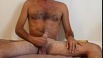 I jerked off and cum ALL over myself