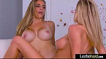 Hot Teen Lesbian Girls (Jessa Rhodes & Ryan Ryans) Show On Camera Their Love clip-18 pornhub video