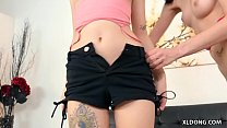 Teens accidentally meets in a casting # Audrey Grace and Piper June thumbnail