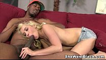 Cute Blonde Teen Tiffany Fox Interracial Porn