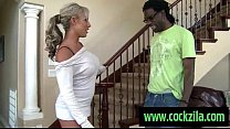Milf Likes Big Black Cock . Interracial Sex
