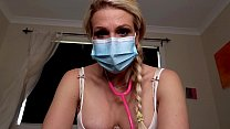 PREVIEW JESSIELEEPIERCE.MANYVIDS.COM MILKED BY DOCTOR MOMMY MEDICAL FETISH POV ROLEPLAY GLOVES SURGICAL MASK