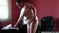 Church lady Andrea can't control her need for orgasm porn image