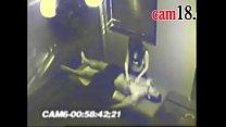 camara de seguridad los graba mientras le hace un masaje