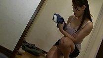 Japanese mom saw my hard dick pornhub video