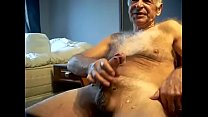 Mature guy masturbation