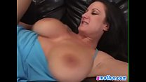 Busty cougar gets filled by throbbing black cock