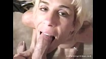 Big tit blonde amateur wife sucking a hard cock... thumb