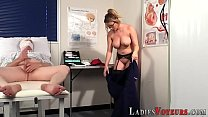 Busty femdom nurse judges pornhub video