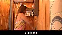Hot oldyoung fucking in the sauna Thumbnail