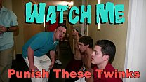 GAYWIRE - Aggressive College Frat Boys Haze The Young And Eager Pledges pornhub video