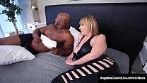 Curvy Hot Babes Angelina Castro & Sara Jay Bang Black Cock!