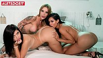 LETSDOEIT - Teen Latinas Are Going Wild This Afternoon (Canela Skin, Flavia Tamayo & Baby Ink)