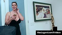 Big Boobed Brunette Alison Tyler Dicked By Fat