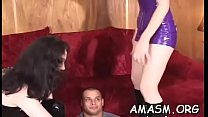 Home video with woman facesitting chap in kinky modes Thumbnail