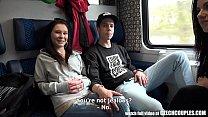 Foursome Sex in Public TRAIN Vorschaubild