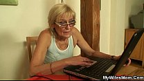 Naughty mom in law getting boned