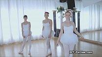 3 teen ballerinas on 1 big cock Preview