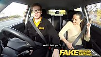 Fake Driving School little English teen gets fucked after her lesson thumbnail