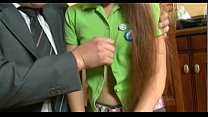 young teen cute russian girl and old man teacher. sweet fist time porn.缩略图
