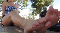 Cams4free.net - Yoga Instructor Nicole's Hot Meaty Soles