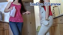 Ineed2pee girls peeing their pants & tight jeans 2015: 261ara-003 thumbnail