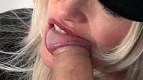 Sexy Blonde Suck Black Cock At Gloryhole