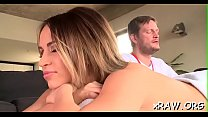 Gorgeous lesbo babes in scenes of romantic softcore's Thumb
