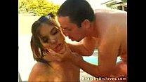 Young Teen Beauty amazing Kissing and Blowjob Vorschaubild