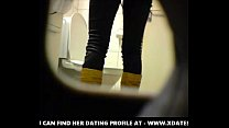 Blonde amateur teen toilet pussy ass hidden spy cam voyeur 2 teen amateur couple video