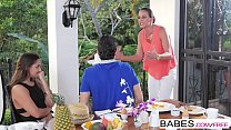Babes - Step Mom Lessons - Mind Your Manners starring Amirah Adara and Joel and Martina Gold clip thumbnail