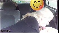 Sexo no carro com fã casado صورة