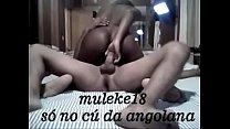amiga angolana cavalgando com o cu sem parar - muleke18 do sexlog