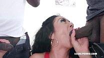 Morgan XX keeps enjoying black cocks IV319