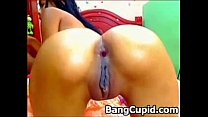 Hot Latina Toying Her Ass And Pussy On Webcam