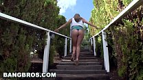 Bangbros - Teen Alex Chance And Her Huge All Natural Big Tits For The Win