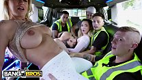 BANGBROS - Wild Limo Ride With Ashley Adams, Jane Wilde and Ryan Conner pornhub video