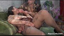 mercedes wankitnow ◦ Busty mature brunette slut sucks on hard thumbnail