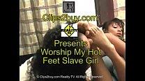 Female Foot Worship