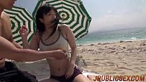 Hina Maeda outdoor POV scenes in sleazy manners