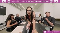 VRBangers.com-Cute student use sex to pay for her room VR porn image