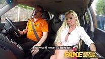 Fake Driving School Barbie Sins sloppy blowjob ...