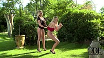 Mistress Lexi Gives Sexy Sub Danielle May A Ser... Thumbnail