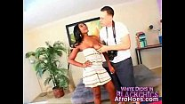 Ebony Chick Penetrated And Enjoying preview image
