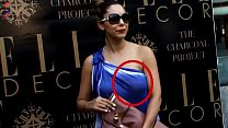 Oooppsss Gauri Khan In Blue Sexposing Dress NIP Visible