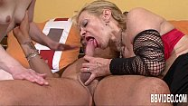 Horny couple fucking for a german milf preview image