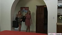 Busty Blonde Licked By Her Milf Friend