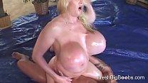 Big Oily Boobs loves playing pornhub video