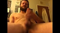 Big cock guy jacking off