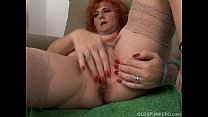 Sexy old spunker is a squirter when she masturbates • reflexology porn thumbnail